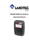 Landtec - Model BIOGAS 5000 - Portable Biogas Analyzer - Operating Manual