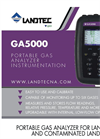 Landtec - Model GA5000 - Portable Gas Analyzer - Brochure