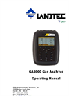 Landtec - Model GA5000 - Portable Gas Analyzer - Operating Manual