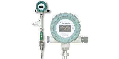 Landtec - Model ACCU-FLO - Thermal Mass Flow Meter