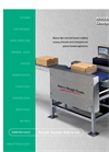 Avery Weigh-Tronix - CVC - Free Standing, Self-Powered Industrial Conveyor Scale Brochure