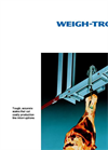 Avery Weigh-Tronix - Monorail Scale for Overhead Track System Weighing Brochure