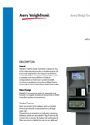 Avery Weigh-Tronix - AVS-7 - Automated Vehicle Scale Controller Technical Specifications