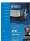 Avery Weigh-Tronix - AVS-7 - Automated Vehicle Scale Controller Brochure