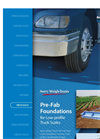 Avery Weigh-Tronix - Pre-Fab Truck Scale Foundations Brochure