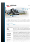 Model BMC HD - Concrete Deck Truck Scale Brochure