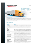 Model BMS HD - Heavy Duty Steel Truck Scale Brochure
