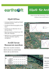 Earthsoft EQuIS ArcGIS Server Data Sheet(DEU)