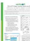 Earthsoft EQuIS DQM Data Sheet (DEU)