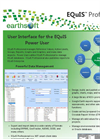 EarthSoft EQuIS Professional Data Sheet 2013