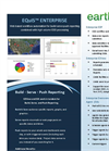 EarthSoft EQuIS Enterprise Data Sheet  2012