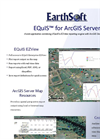 EQuIS for ArcGIS Server DataSheet 2010