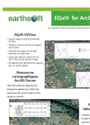 EarthSoft EQuIS for ArcGIS Server Data Sheet 2012 (French)