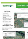 EarthSoft EQuIS for ArcGIS Server Data Sheet 2012 (Portuguese)