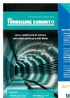 NCE Tunnelling Summit 2014 - Brochure