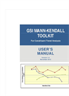 Mann-Kendall - Toolkit Software Brochure