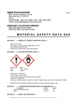 MSDS Apple Environmental Meth Remover Part 2