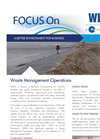 WESA - Waste Management Consulting Service - Brochure