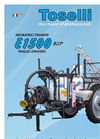 Model E 1500 & E 2000 - Trailed Sprayers for Small Extensions- Brochure