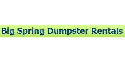 Big Spring Dumpsters