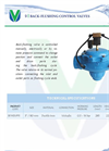 Model BFM - Back-Flushing Control Valves - Brochure
