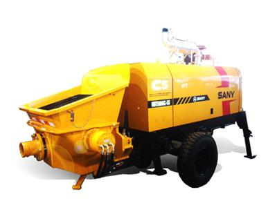 Sany - Model HBT5008C-5S - Diesel Trailer Pump