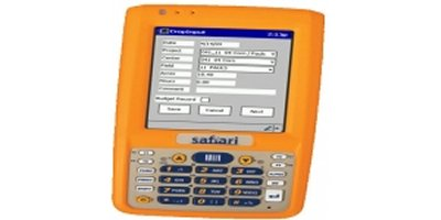 Handheld Data Entry Software