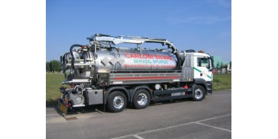 ADR - Man - Model 26 Ton - Vacuum and Jet Clening Combined Vehicle