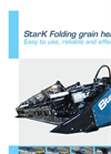 Folding Grain Headers Brochure