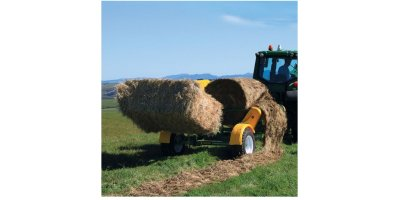 Model CH-4000 - Trailed Chainless Bale Feeder
