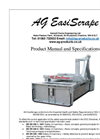 Garnett - Model AG 180 - Dual Direction Yard Scraper Brochure