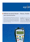 Model APR500 - Flexible and Communicative Handheld Reader Brochure