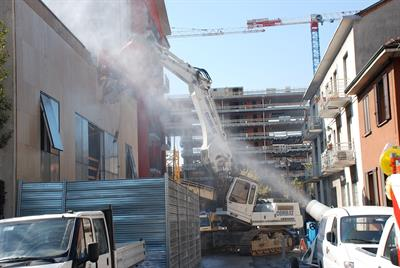Emission Control Systems for Demolition Industry - Environmental - Site Remediation