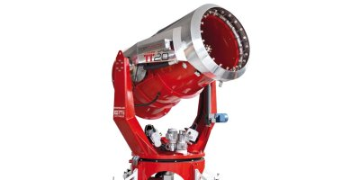 TopTurbine - Model TT20 - Firefighting Turbine for Fire & Hazardous Materials