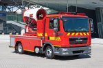Firefighting Turbine Truck
