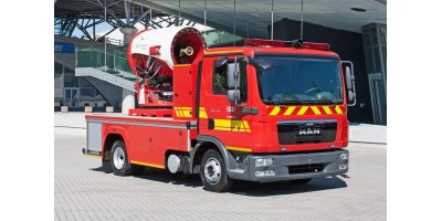 EmiControls - Model MFT35-H - Firefighting Turbine Truck