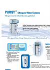 PURIST - Ultrapure Lab Water Systems - Brochure