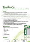 Direct-Pure - RO Lab Water Systems - Brochure