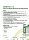 Direct-Pure - RO Lab Water Systems with Dispenser Brochure