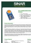 Sinar - AP6060-000COS - Moisture Analyser  Brochure