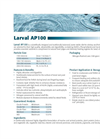 Larval - Model AP100 - Shrimp Hatchery Products Datasheet