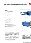 Model Type R - Actuator Brochure