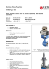 Maxifluss - Model Type 72.4 - Sandwich Design Rotary Plug Valve Brochure
