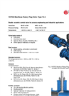 Maxifluss - Model Type 72.3 - Rotary Plug Valve - Brochure