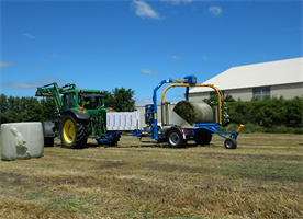 Göweil - Model G5020 - Best Selling Bale Wrapper
