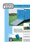 Model 4 Tonne - Horse Muck Trailer Brochure