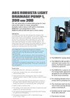 ABS Robusta - 200-TS - Auto 10m 230V Water Pump - Spec Sheet