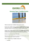 Economy Type 1 Turbidity Curtain Datasheet