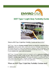 Model DOT Type 1 - Light Duty Turbidity Curtain Datasheet