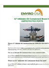 Enviro-USA - Model 32 Inch - Inflatable Oil Containment Boom for Unprotected Ports Datasheet